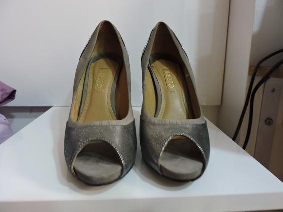 Sapato Social Marca Arezzo Nº 34, Usado