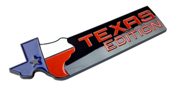 Emblema Texas Edition Americano Dodge Ram F250 Ranger Ford