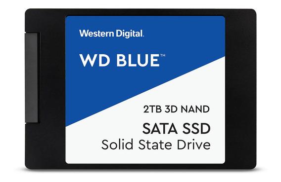Disco sólido interno Western Digital WDS200T2B0A 2TB azul