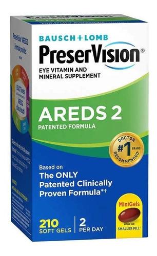 Preservision Areds 2 Eye Vitamin & Mineral 210 Minigels Novo