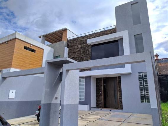 *casa En Venta En La Urb. Cerro Verde Caneyes, San Cristóbal