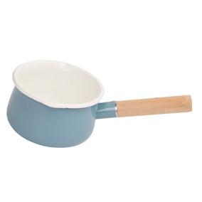 1.3l Mini Leite Esmalte Cooking Molho Panela Panela De De Ma