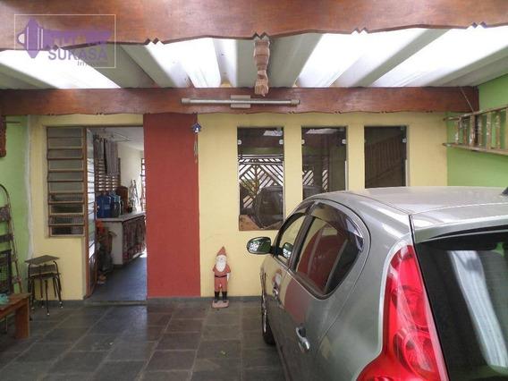Casa Com 2 Dormitórios À Venda, 190 M² Por R$ 650.000,00 - Vila Valparaíso - Santo André/sp - Ca0137