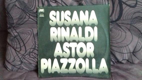 Lp Suzana Rinaldi Astor Piazzolla # Disco Raríssimo!