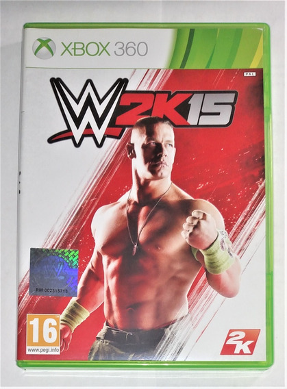Wwe 2k15 Original Completo Xbox 360 Cr $15