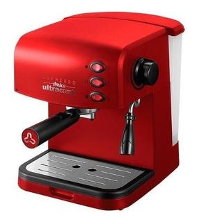 Cafetera Ultracomb CE-6108 Roja 220V