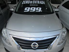 Nissan Versa Completo Zero De Entrada + 60 X 999,00 Fixas
