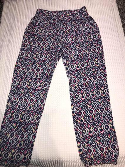 Pantalon Niña Fibrana Talle 10