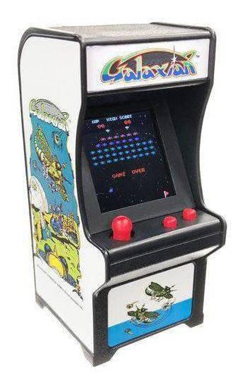 Tiny Arcade Mini Fliperama Retrô Galaxian Com Som 4788