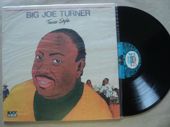 Lp Big Joe Turner- Texas Style- 1989- Zerado- Frete 15,00