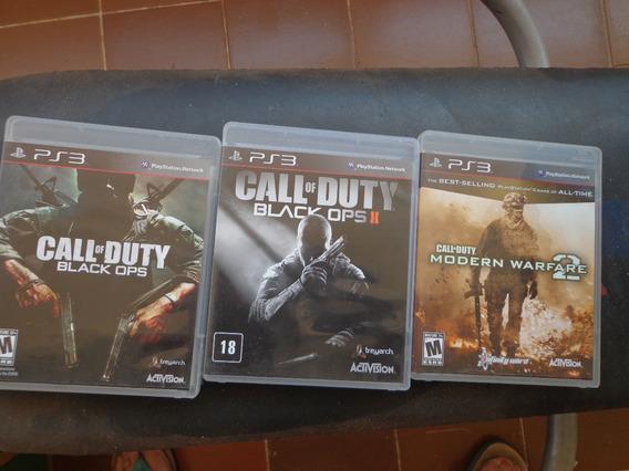 Call Of Duty Black Ops 1+ 2 + Warfare 2 Ps3 Mídia Física