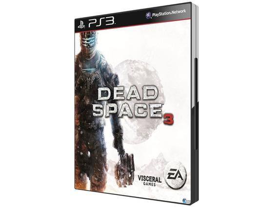 Game Ps3 Dead Space 3 Edição Limitada - Original - Novo