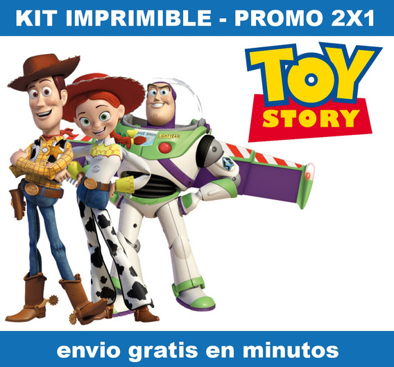 Kit Imprimible Toy Story Candy Bar Promo 2x1