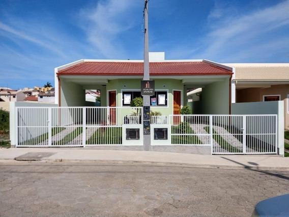 Casa Com 2 Dormitórios À Venda, 65 M² Por R$ 190.000 - Forquilhas - São José/sc - Ca2495