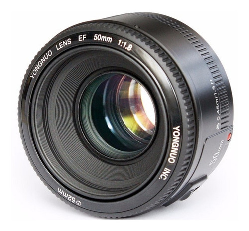 Lente Yongnuo 50mm F1.8 Para Nikon C/ Motor De Foco (af-s)