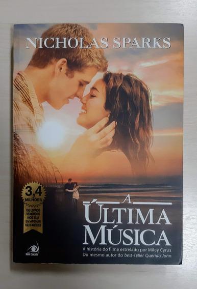 Livro A Última Música - Nicholas Sparks