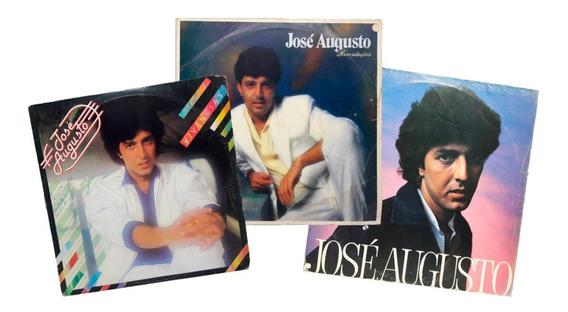 Lp Lote José Augusto Vivências Recordações Grandes Sucessos