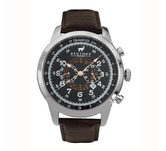 Reloj Análogo Para Caballero St22511e Steiner