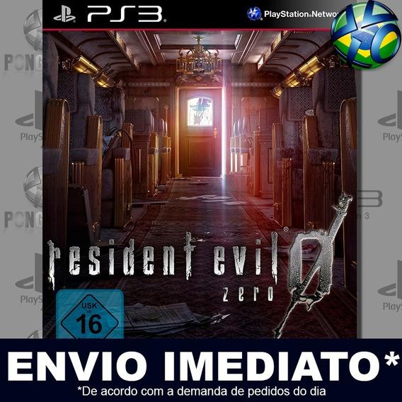Resident Evil 0 Ps3 Psn Jogo Em Promoção A Pronta Entrega