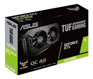 Nvidia Geforce Asus Tuf Gtx 1650 Súper 4gb Oc Dual Backplate