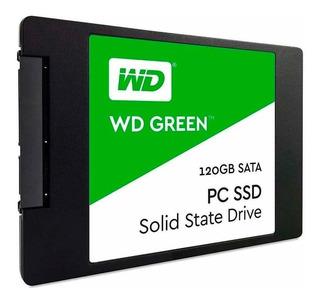 Disco Rigido Sólido Ssd 120gb Green Wd Sata3 2,5 Notebook