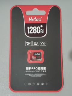 Cartão De Memória Micro Sd Netac 128gb Class10 U3