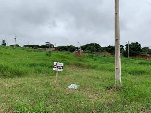 Terreno À Venda, 387 M² Por R$ 160.000,00 - Conjunto João De Barro Porto Seguro Ii - Maringá/pr - Te0058
