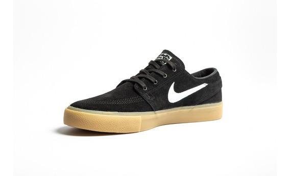 Zapatillas Nike Sb Stefan Janoski Rm Black Gum Originales !