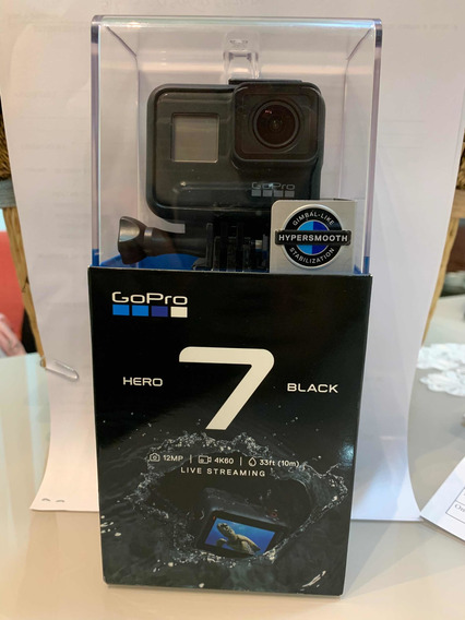 Câmera Gopro Hero 7 Black. Original. 12 Mp Wi-fi 4k.