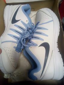 Nike Zapatillas Tennis Azul Turquesa Dama Hermosas!