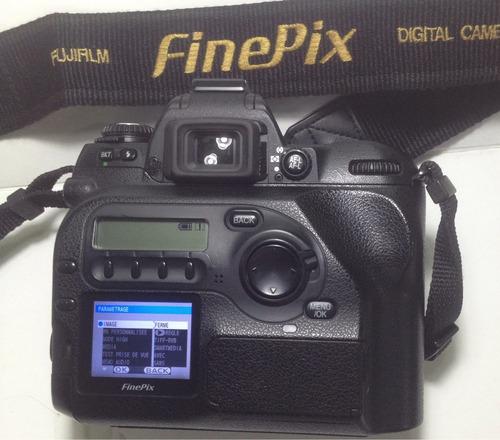 Fuji Film S2 Camara Profecional Usa Lentes Y Flash Nikon