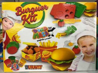 Masa Burguer Kit Plástico A Duravit July Toys