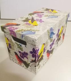 Cajas Carton Con Tapa Decoupage Adornos Y Decoración Del