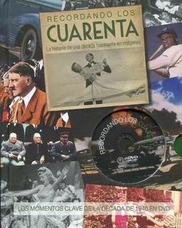 Recordando Los Cuarenta - Nuevo - Incluye Dvd