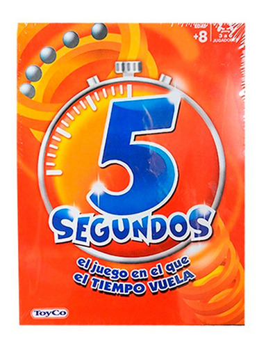 Juego De Mesa 5 Segundos Version Popular Toyco Tm1 18007 Ttm