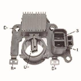 Regulador De Tensao Mitsubishi Pajero 1994-2004 Ikro - Ik585