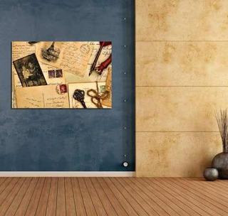 Vinilo Decorativo 20x30cm Carta Antiguo Llave Vintage
