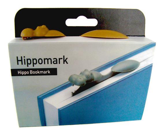 Señalador Y Separador De Libro Hipopótamo- Envíos Express