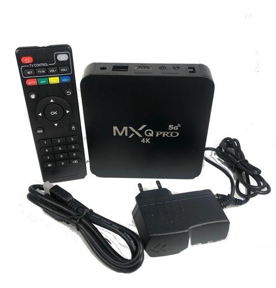 Kit Conversor De Box Pro 4k Rede Wifi 5g Para Qualquer Tv