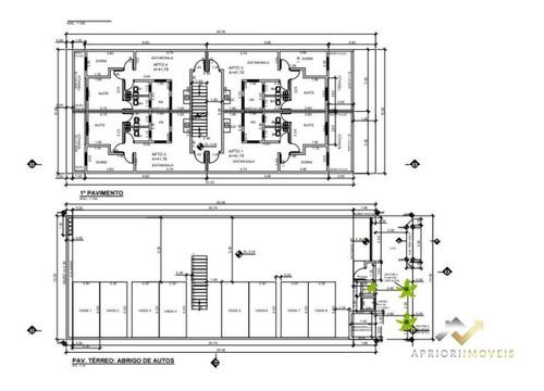 Cobertura Com 2 Dormitórios À Venda, 86 M² Por R$ 300.000,00 - Cidade São Jorge - Santo André/sp - Co0714