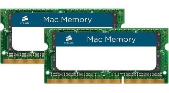 Kit 16gb (2x8gb) Corsair 1600 Apple iMac Macbook Pro + Nfe