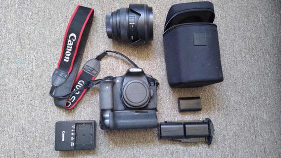 Câmera Cânon 60d C/grip (3 Baterias) + Lente Sigma 24-70 2.8