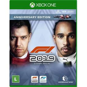 F1 2019 (fórmula 1 2019) Xone Mídia Física Lacrado Pt Br