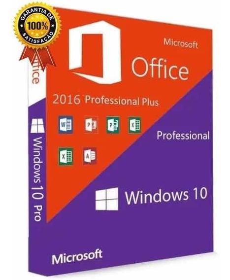 Windows10 Pro Chave Licença 25dgts + Office 2016 Plusss