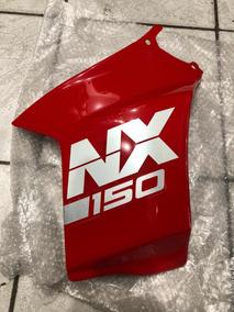 Carenagem Tanque Nx 150 89 Direita Vermelha Original