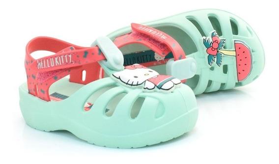 Babuche Infantil Hello Kitty Summer - 21880