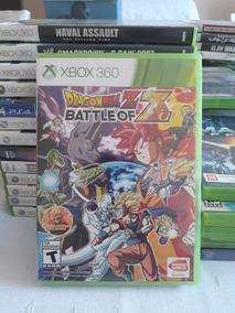 Dragon Ball Z Battle Of Z Xbox 360 Mídia Física Lacrado
