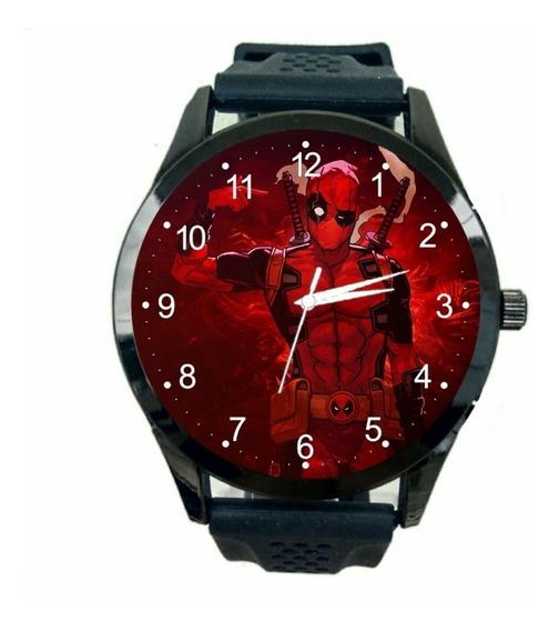 Deadpool Marvel Relógio Masculino Promoção Oferta Novo T513