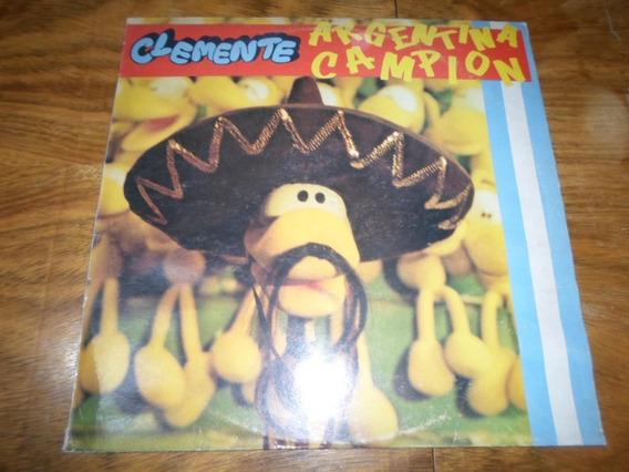 Clemente - Argentina Campion * Disco De Vinilo