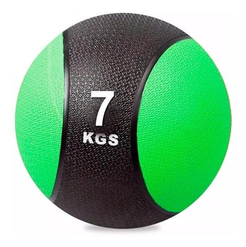 Pelota Medicinal 7k C/ Pique Balón Medicine Ball Peso El Rey